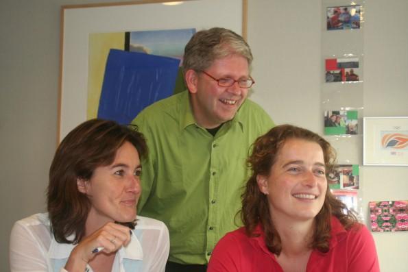 Nicole, Frank en Marjan