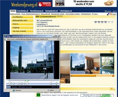 Weekendjeweg.nl biedt een mooie video van het hotel.