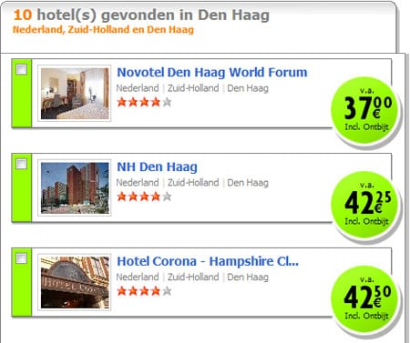 Hotel Corona op Weekendcompany.nl