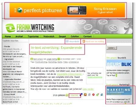 adverteren op Frankwatching