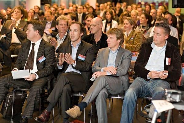 publiek Corporate Social Networking conferentie