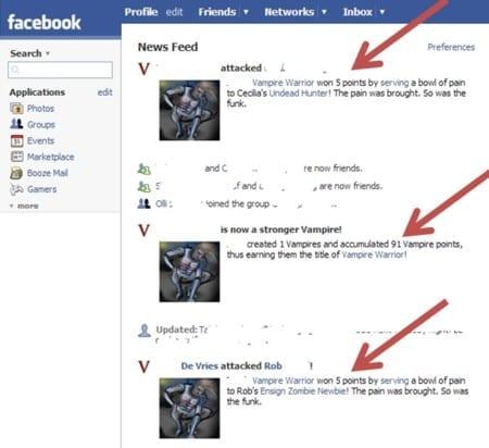 Facebook schema