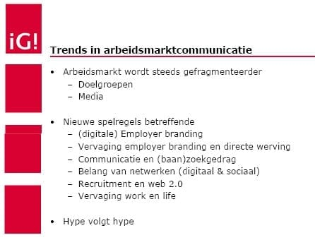 trends in arbeidsmarktcommunicatie