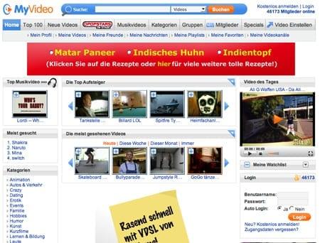 http://www.myvideo.de/