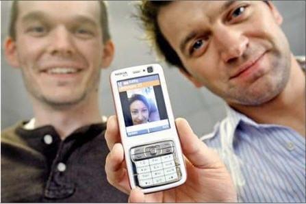 Kyte.tv op mobiele telefoon