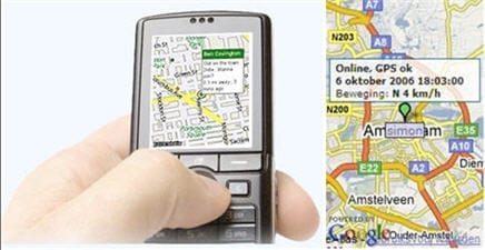 Loopt & Trackr op mobiel
