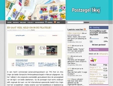 Postzegelblog