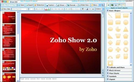 zohoshow