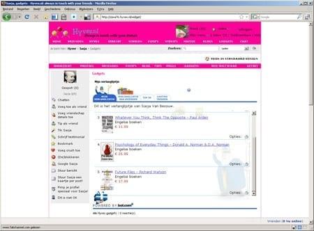 Bol.com op Hyves