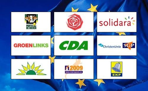 Politieke EU partijen