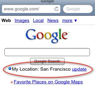 Google My Location