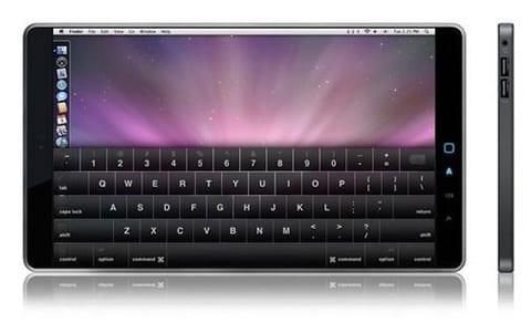Apple toekomstige notebook