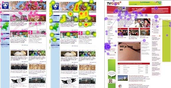 Kijkintensiteit ook bij website VVV Nederland en TVGids.nl voornamelijk boven de vouw.