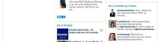 Deloitte gebruikt sociale media om zich als werkgever te laten zien
