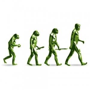 Logische stap in evolutie