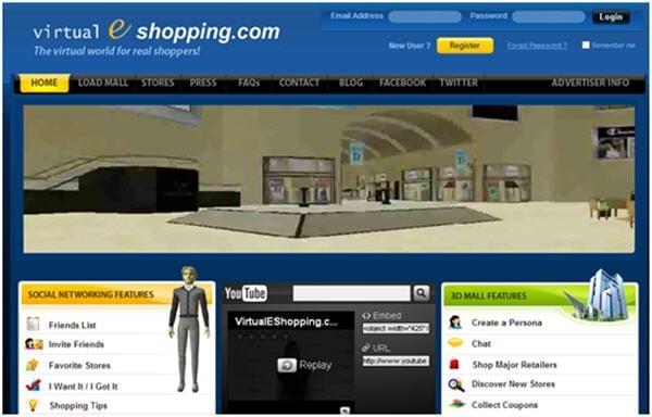 Screenshot: virtualEshopping.com