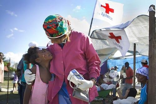 haiti meisje + vrouw
