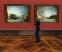 Virtual Museum Dresden in Second Life