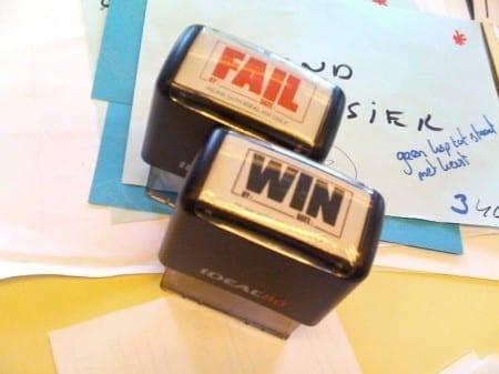 Win or fail?