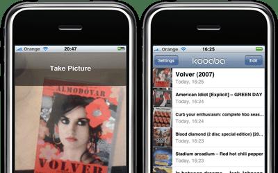 Kooaba Iphone app