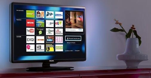 Het Philips platform, genaamd Net TV