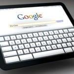 Google op iPad