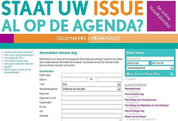 Issuekalender_screenshot