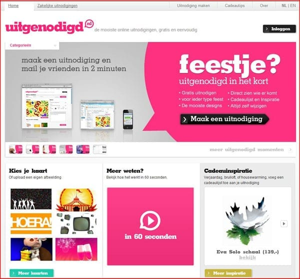 Uitgenodigd.nl_Screenshot