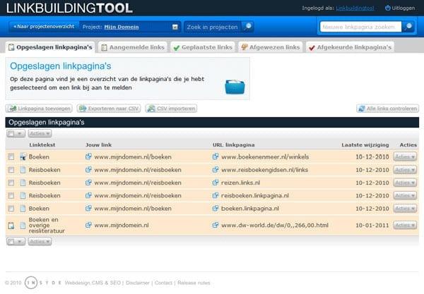 Linkbuildingtool_Screenshot