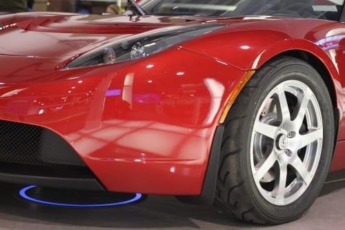 Een Elektrische Auto Draadloos Opladen En Ander Ces Nieuws