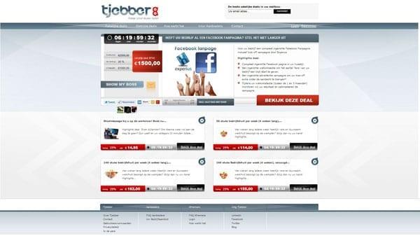 Tjebber_screen_home