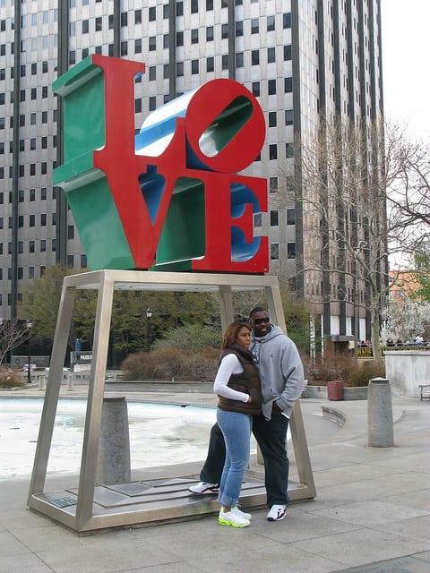 LOVE van Robert Indiana, Philadelphia