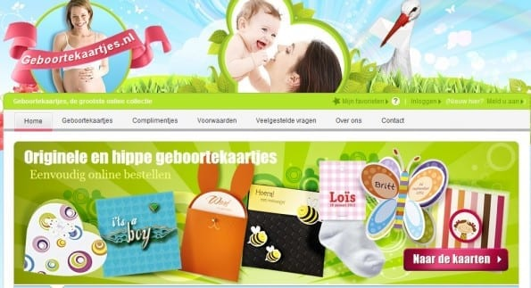 Geboortekaartje.nl