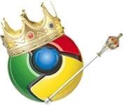 Google Chrome is King