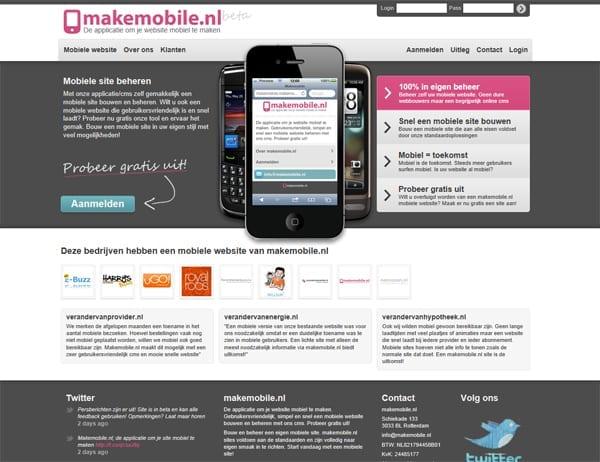 328bb129aee Makemobile.nl: Eenvoudig een mobiele website bouwen - Frankwatching ...