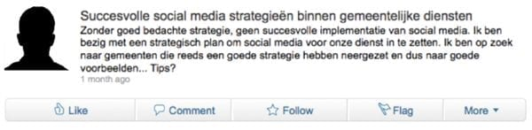 discussie LinkedIn