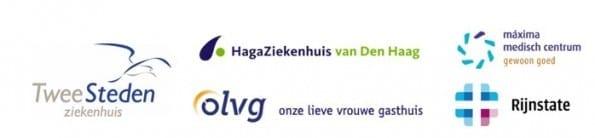 Logo's van de winnenende ziekenhuizen