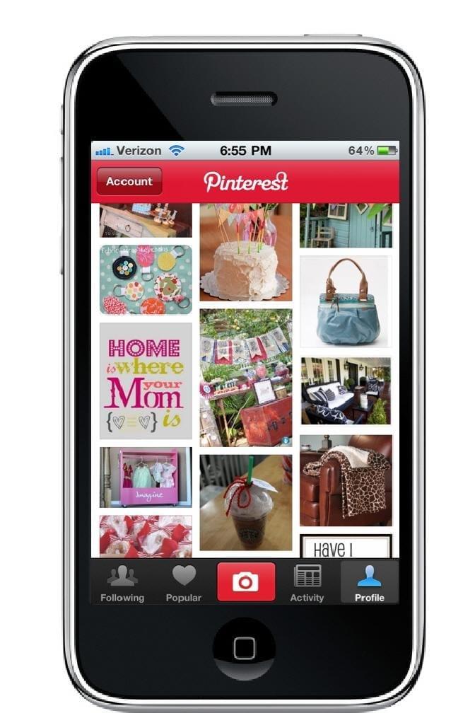 Pinterest iPhone App
