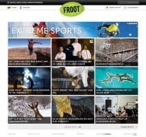 De homepage van Froot.nl