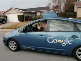 Google auto zelf rijdend
