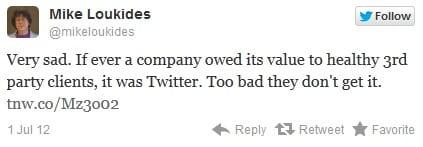 Ontwikkelaars tweet