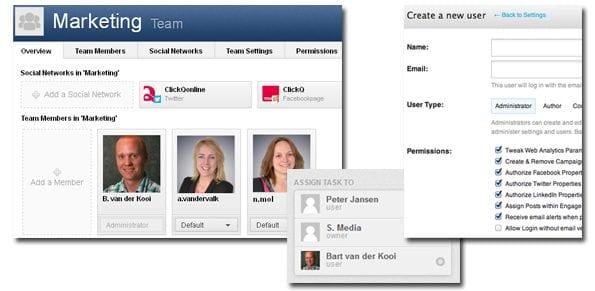 Workflow Management Social Media tools