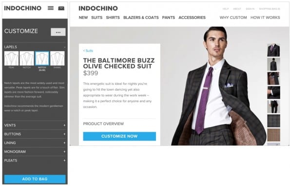 indochino com responsive site