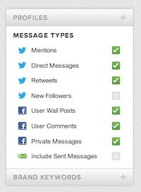 filteren twitter stream sprout social