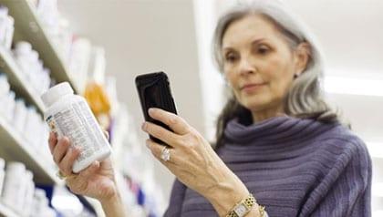 Shoppen met smartphone