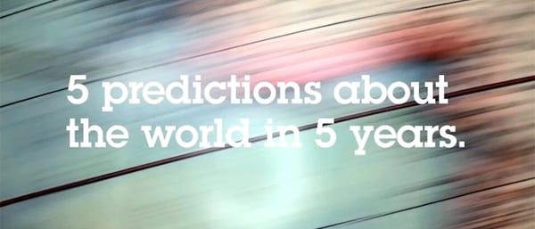 Five predictions