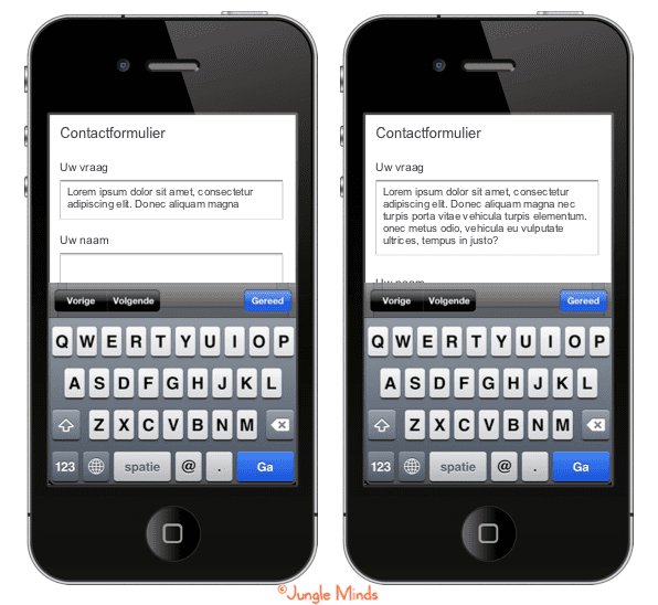 """Responsive formulierveld, zo vallen teksten nooit meer """"buiten"""" beeld"""