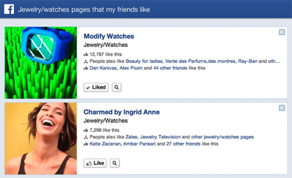 Facebook Graph Search success stories