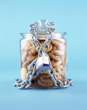 Pot koekjes met slot