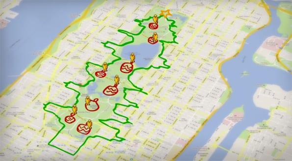 Nike - figure running app